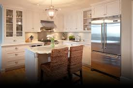 kitchen modern stainless refrigerator combined with elegant white modern stainless refrigerator combined with elegant white new kitchen island two wicker chairs and bright cabinet