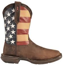 British Flag Boots Durango Rebel American Flag Cowboy Boots Square Toe Country