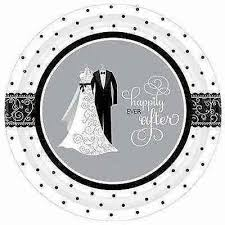 bridal shower plate happy after wedding bridal shower supply plates home