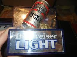 bud light light up sign vintage budweiser light bud light light up sign not miller coors