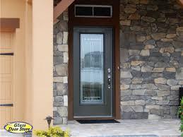 Fiberglass Exterior Doors With Glass Unique Single Glass Front Doors With Saratoga Front Door Glass