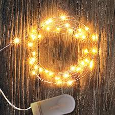 copper wire lights battery 6pcs 7 2ft copper wire lights battery operated with 20leds warm