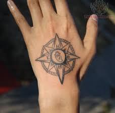 tattoo compass hand compass tattoo on hand