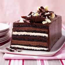 chocolate truffle layer cake recipe sklar food wine