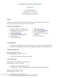Secretary Resume Template Sample Medical Secretary Resume Resume Examples For Administration