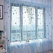voilage chambre enfant rideau chambre fille 12 amazon fr voilage enfant kirafes