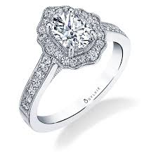 floral engagement rings michaela vintage inspired oval cut flower engagement ring