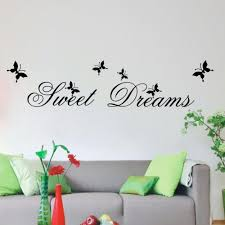 compare prices on sweet dreams wall online shopping buy low price sweet dreams wall stickers diy mural art decal self adhesive removable pvc wallpaper decor butterfly words