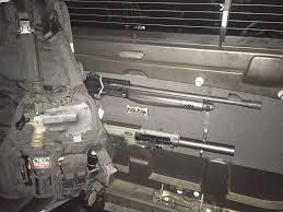2007 chevy avalanche mod and gun storage gsg522 and hatsan escort