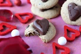 valentines day chocolate s day chocolate chip chocolate heart cookies