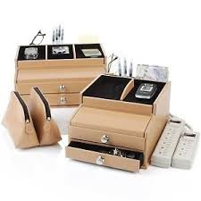 Electronic Charging Station Desk Organizer Deluxe Valet Charging Station And Desk Organizer With
