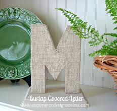 Letter Decoration Ideas by 25 Best Diy Burlap Decoration Ideas And Designs For 2017