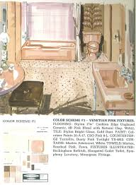 the color pink in bathroom sinks tubs and toilets from 1927