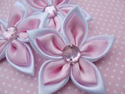satin ribbon flowers 20 satin 2 ribbon flower pink r001 yycraft store