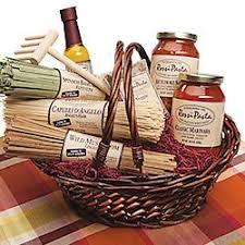 gourmet food gift baskets classic pasta gift basket www lapiazzadicarolina