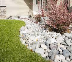 River Rock Garden Bed Garden Design With River Rock Landscape Home Landscaping That Your