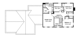 Colonial Open Floor Plans Thoroughly Modern Colonial 14364rk Architectural Designs
