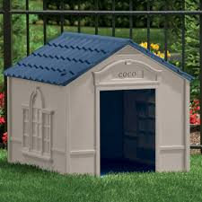 Igloo Dog Houses Suncast Large Deluxe Dog House With Free Doors Dh350 Hayneedle