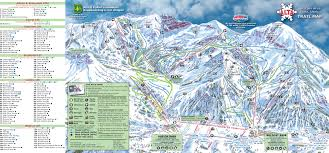 Italy Mountains Map by Alta Ski Area Trail Map