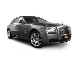 rolls royce white and gold rolls royce car rentals hertz dream collection