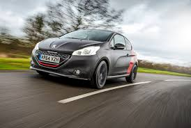 peugeot 208 gti blue peugeot 208 gti 30th 2015 review by car magazine