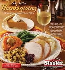 alfa img showing sizzler thanksgiving special