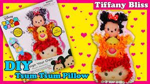 tsum tsum pillow diy no sew kids craft toy disney tigger ariel