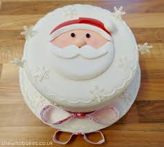 how to make a santa cake she who bakes
