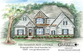 prairie style house plans pleasantcrest cottage house plan house plans by garrell