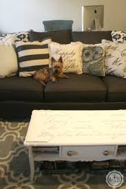 chalk paint coffee table makeover happily ever after etc