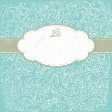 Background Invitation Card Vintage Elegant Invitation Card With Floral Background Royalty