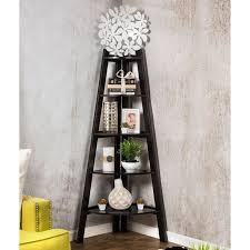 Pottery Barn Leaning Bookcase Best 25 Corner Ladder Shelf Ideas On Pinterest Ladder Display