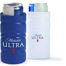 michelob ultra vs bud light 2 new real deal michelob ultra slim can koozie golf coozie coolie