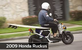 Honda Rugged Scooter 2009 Honda Ruckus Scooter Review Cycle World