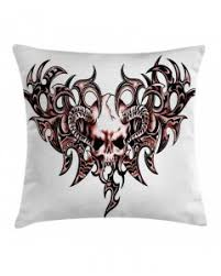 Tattoo Bedding Tattoo Throw Pillow Case Romantic Sketchy Love Print Cushion Cover