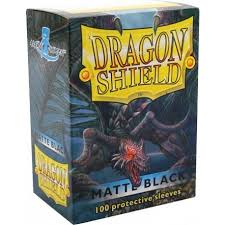 dragon shield matte sleeves 100ct pick color shop