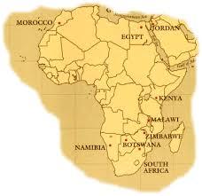 africa map kalahari desert continental map of horseback rides botswana okavango