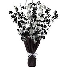 50th birthday flowers and balloons birthday cheer 50th birthday balloon weight centerpiece walmart