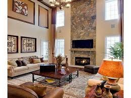 Decorated Family Rooms | simple modern 2 story family room decorating ideas i like the decor