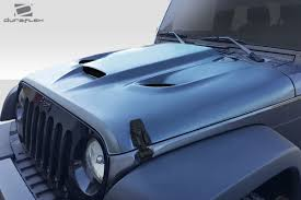 hellcat jeep engine 07 17 jeep wrangler hellcat look duraflex body kit hood 113214