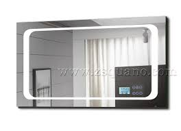 Bluetooth Bathroom Mirror Smart Mp3 Bathroom Mirror With Led Light And Bluetooth View Led