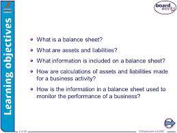 balance sheets balance example sample balance sheet 5