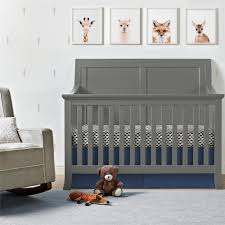 4 In 1 Convertible Crib by Dorel Living Baby Relax Hollis 4 In 1 Convertible Crib Graphite
