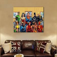 yhhp canvas print superman collection wall decor for home