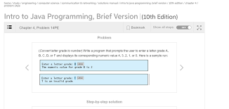 write a program that prompts the user to enter a l chegg com
