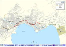 Athens Subway Map by Maps Of Greece Metro Map Athens And Thessaloniki