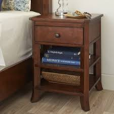 Curved Nightstand End Table Curved Nightstand Wayfair