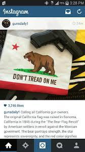 Don T Tread On Me Flag Origin California Flag Don U0027t Tread On Me Bear Flag Museum