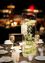baby s breath centerpiece submerged baby s breath for a winter wedding mon cheri bridals