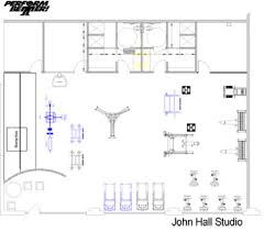 fitness facility design case study john hall studios